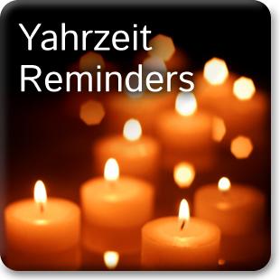 Yahrzeit Reminders