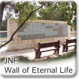 JNF Wall of Eternal Life